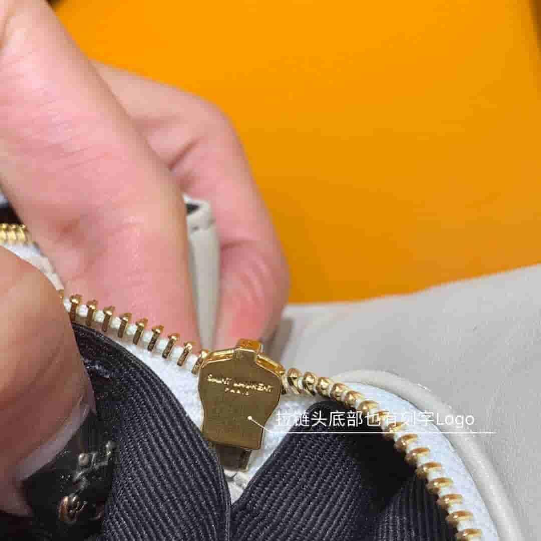 Ysl/圣罗兰 ANGIE 钻石绗缝小羊皮链条包 568906