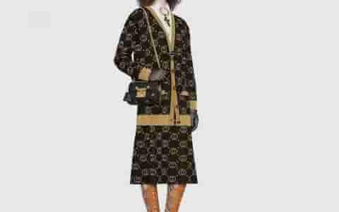 Gucci Padlock系列蜜蜂星星小号肩背包 432182