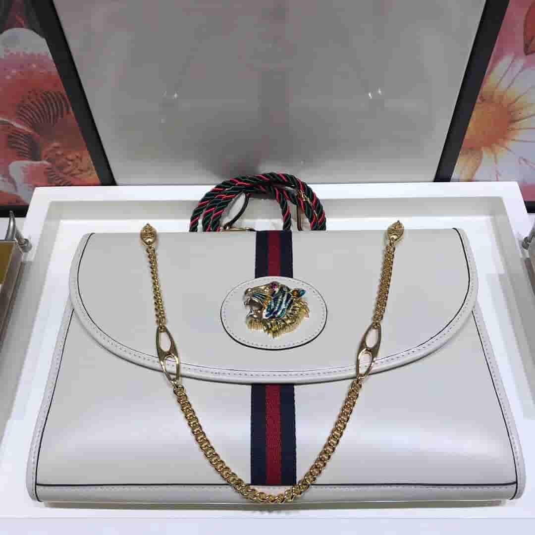 Gucci 564697 Rajah系列中号肩背包