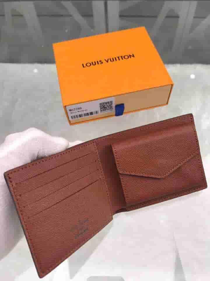 LV M62288 老花Monogram Marco钱夹