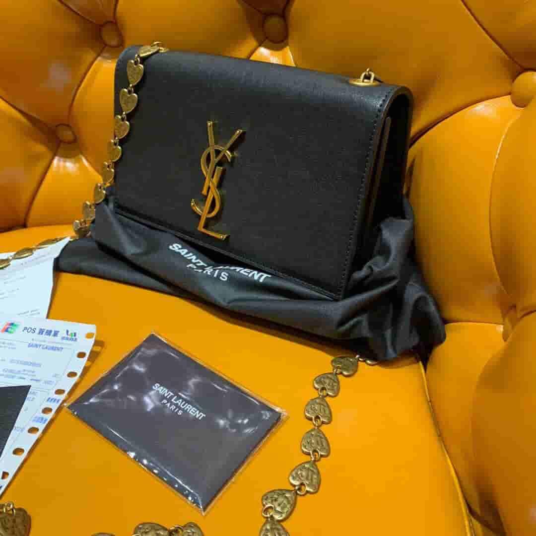 YSL KATE最新设计爱心链条包 517023