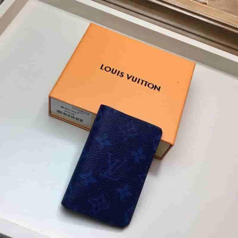 LV M30301 2019新款蓝花口袋钱夹