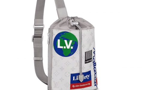 LV 2019新款Chalk 抽绳单肩包 M44629 M44625