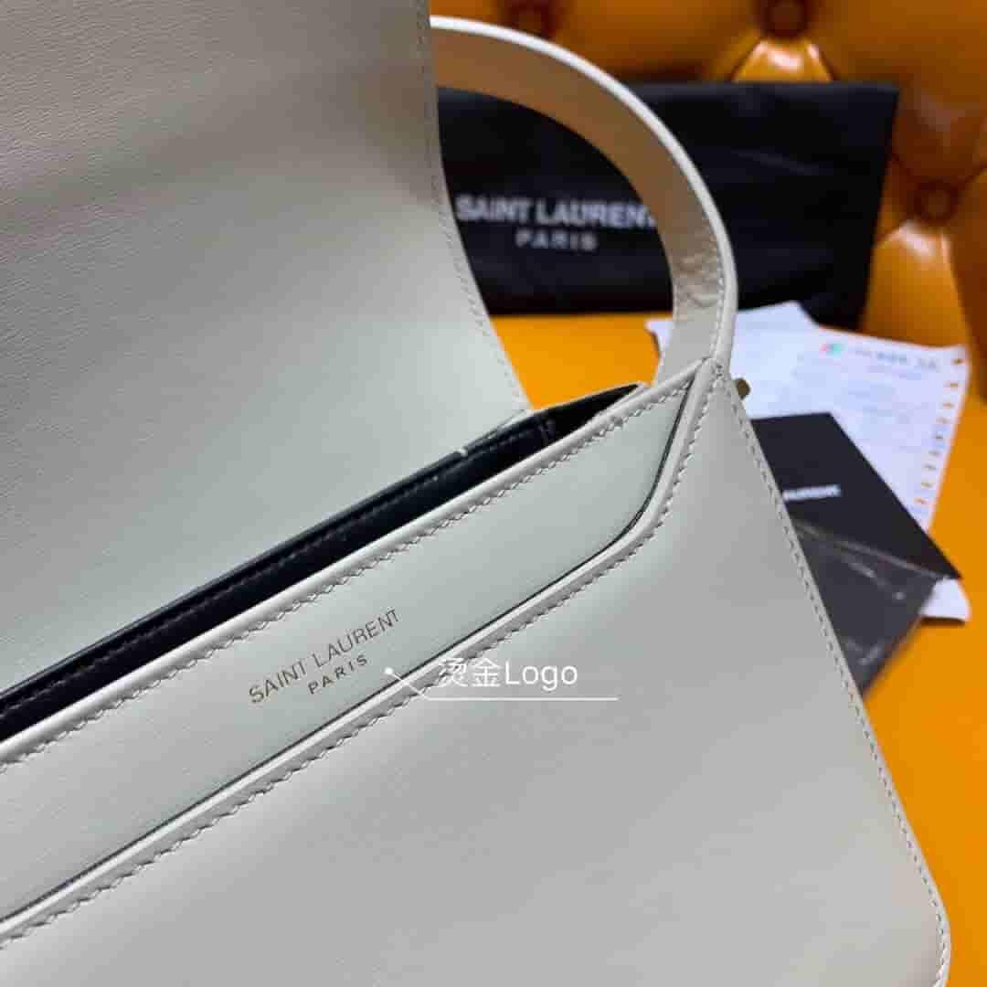 YSL/圣罗兰 2019新款LE 61白色小号马鞍包 568569