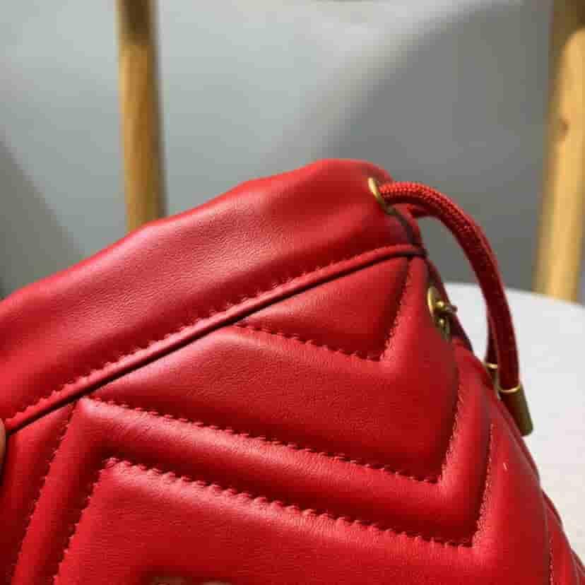 Gucci/古驰 GG Marmont 系列迷你水桶包 575163