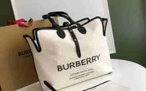 Burberry/巴宝莉 The Belt中号柔软棉质帆布贝尔特包 80103411