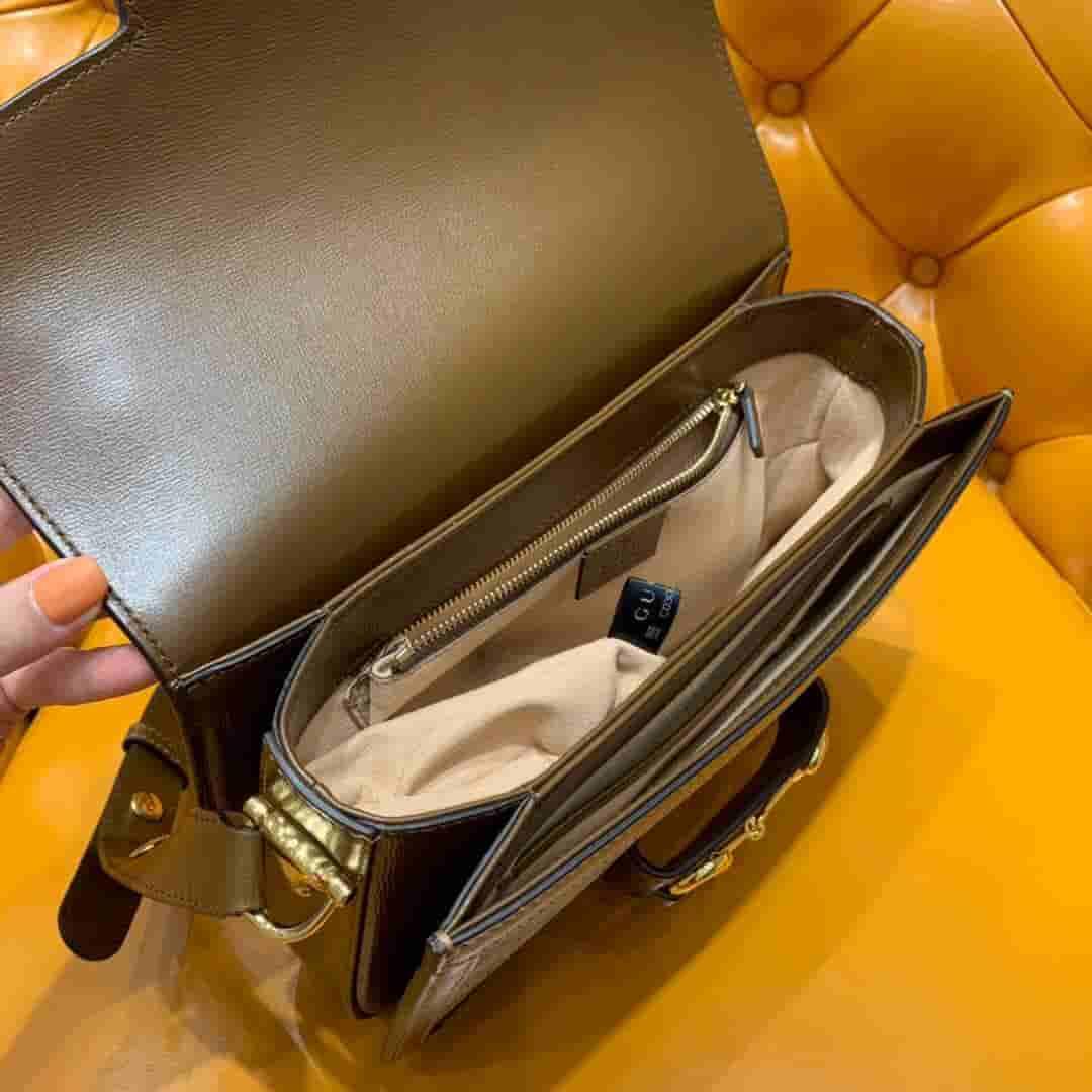 Gucci/古驰 1955 Horsebit bag马衔扣手袋 602204