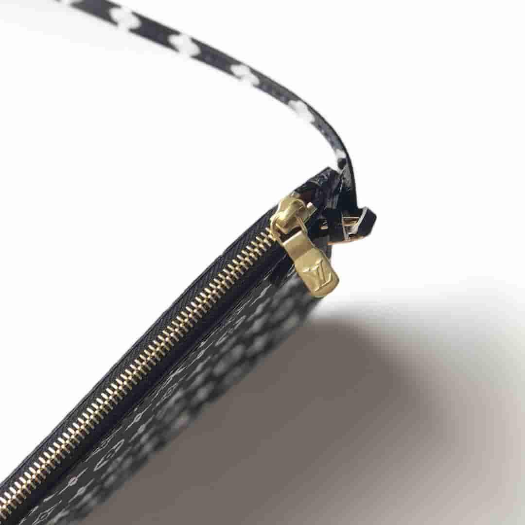 LV M44676 丛林系列豹纹Neverfull中号购物袋