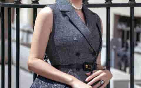Dior/迪奥 30 Montaigne so black 极致黑蒙田包
