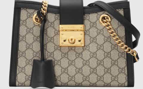 Gucci/古驰 Padlock系列小号GG肩背包 498156 KHNKG 9769