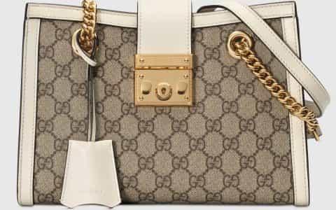 Gucci/古驰 Padlock系列小号GG肩背包 498156 KHNKG 9761