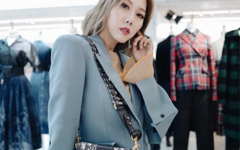 Dior/迪奥 30 MONTAIGNE提花帆布BOX款手袋 M9204UTZQ_M928
