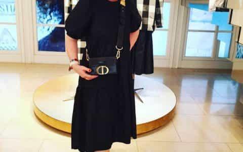 Dior/迪奥 30 MONTAIGNE羊皮革BOX款手袋 M9204UMPK_M900