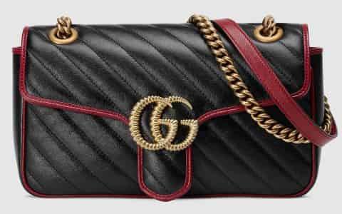 Gucci/古驰 GG Marmont 系列小号肩背包 443497 0OLFX 8277