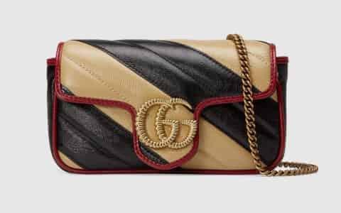 Gucci/古驰 GG Marmont 系列超迷你手袋 574969 0OLOX 9689