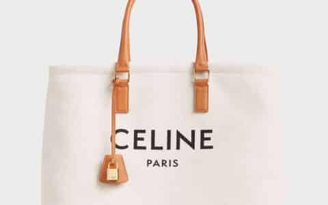 Celine/赛琳 CABAS托特包帆布购物袋沙滩包单肩手提包 190062