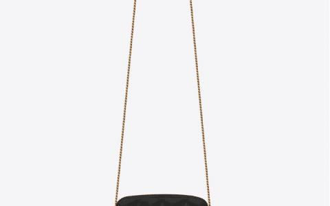 YSL/圣罗兰 BECKY双拉链绗缝小羊皮手拿包 608941
