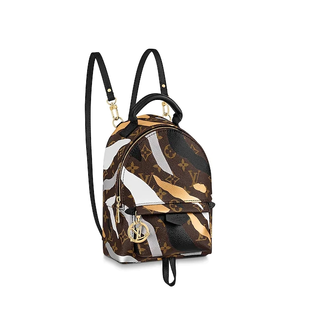 M45143 LVXLOL PALM SPRINGS 英雄联盟迷彩迷你双肩包