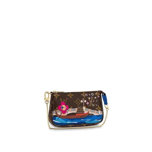 LV 2020圣诞限量款威尼斯Mini小手袋麻将包 M68489