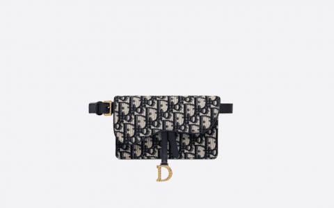 Dior/迪奥 Oblique老花马鞍腰包 S5619CTZQ_M928