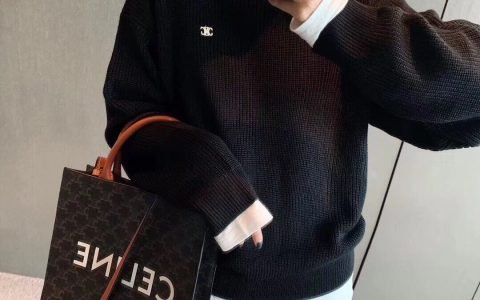 Celine/赛琳 CABAS TRIOMPHE帆布小号竖款手提购物袋 191542