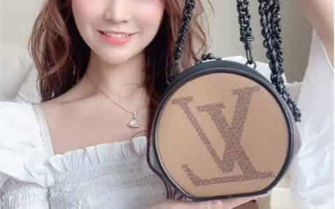 📦2020必买小包|LV圆饼开箱|硬皮还超大容 M45280