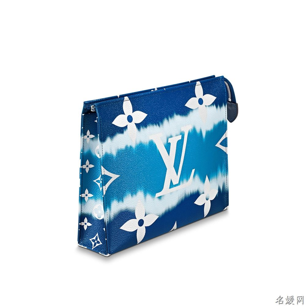 LV M69136 2020夏季扎染系列 ESCALE 26 蓝色盥洗袋