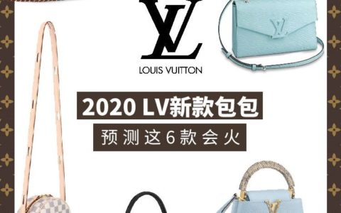 LV 2020新品推荐,预测这6款会火🔥