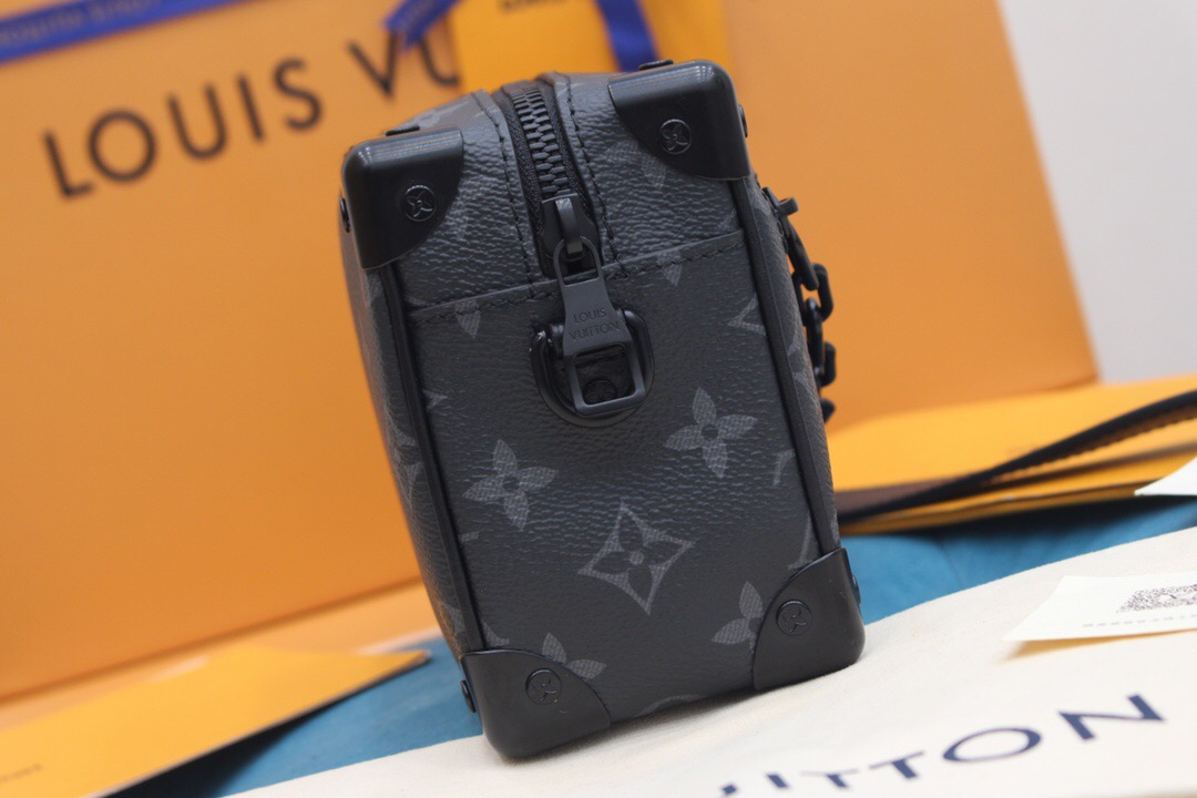 LV M44735 MINI SOFT TRUNK 黑色盒子包