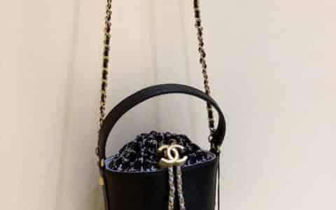 Chanel/香奈儿 2020新款小号水桶抽绳包 AS1478