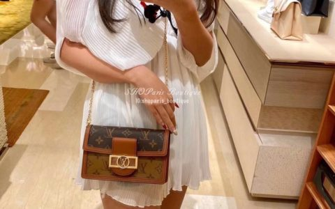 Louis Vuitton LV Dauphine 达芙妮 链条 斜挎包 M68746