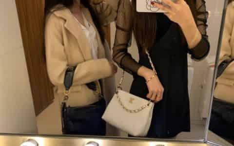 Chanel/香奈儿 2020新款嬉皮水桶包 AS1461 B02344 10601