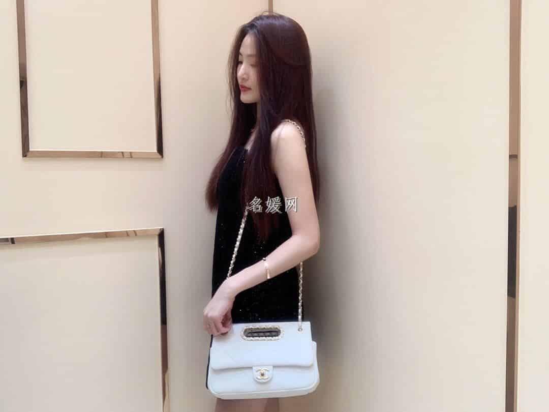 Chanel/香奈儿 2020春夏新款链条单肩手提包口盖包 AS1466