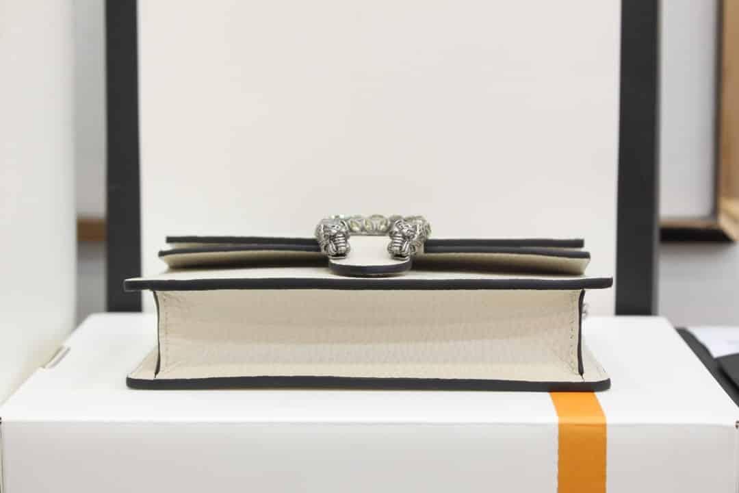 Gucci Dionysus super mini leather bag 476432 CAOGM 9174