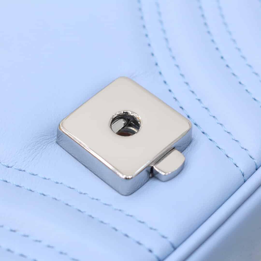 Gucci/古驰 马卡龙色GG Marmont系列马克龙肩背包 446744