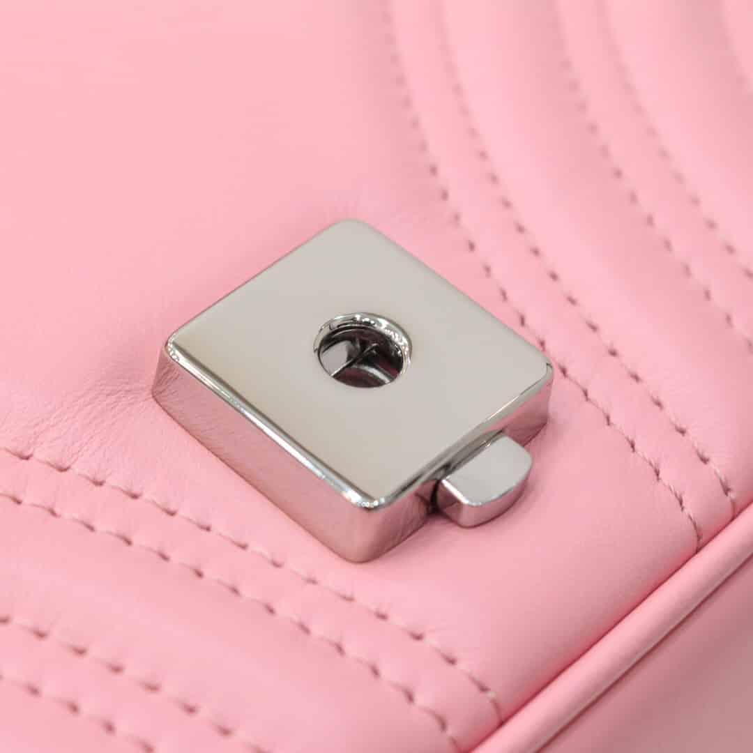 Gucci马卡龙色GG Marmont系列马克龙肩背包446744 DTDIP 5815