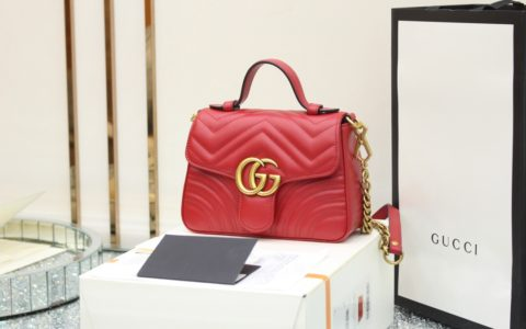 Gucci GG Marmont mini top handle bag 547260 DTDIT 6433