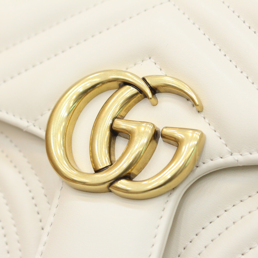 Gucci GG Marmont mini top handle bag 547260 DTDIT 9022