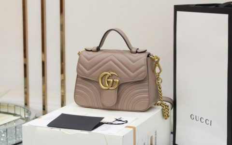Gucci GG Marmont mini top handle bag 547260 DTDIT 5729