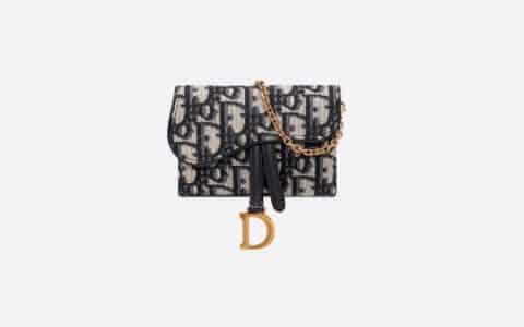 Dior Oblique 印花 Nano 马鞍手拿包 S5654CTZQ_M928
