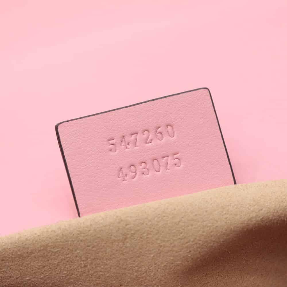 Gucci/古驰 GG Marmont系列迷你手提包 547260 DTDIP 5815