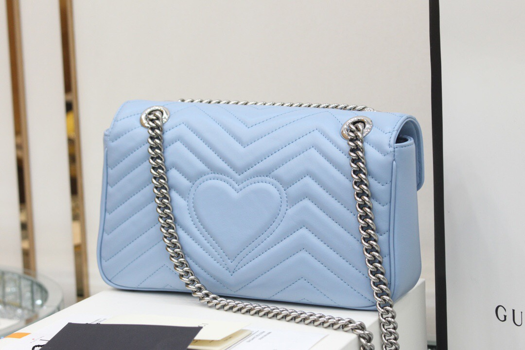 Gucci GG Marmont small shoulder bag ‎443497 DTDIY 4928