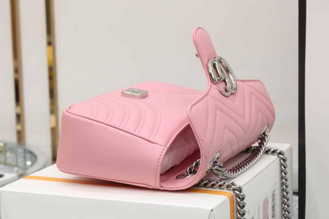 Gucci GG Marmont small shoulder bag 443497 DTDIY 5815