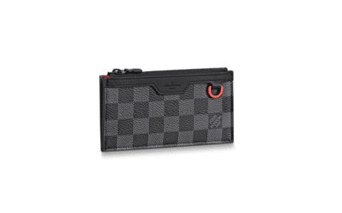 LV N60354 Damier Graphite Utility零钱卡片包