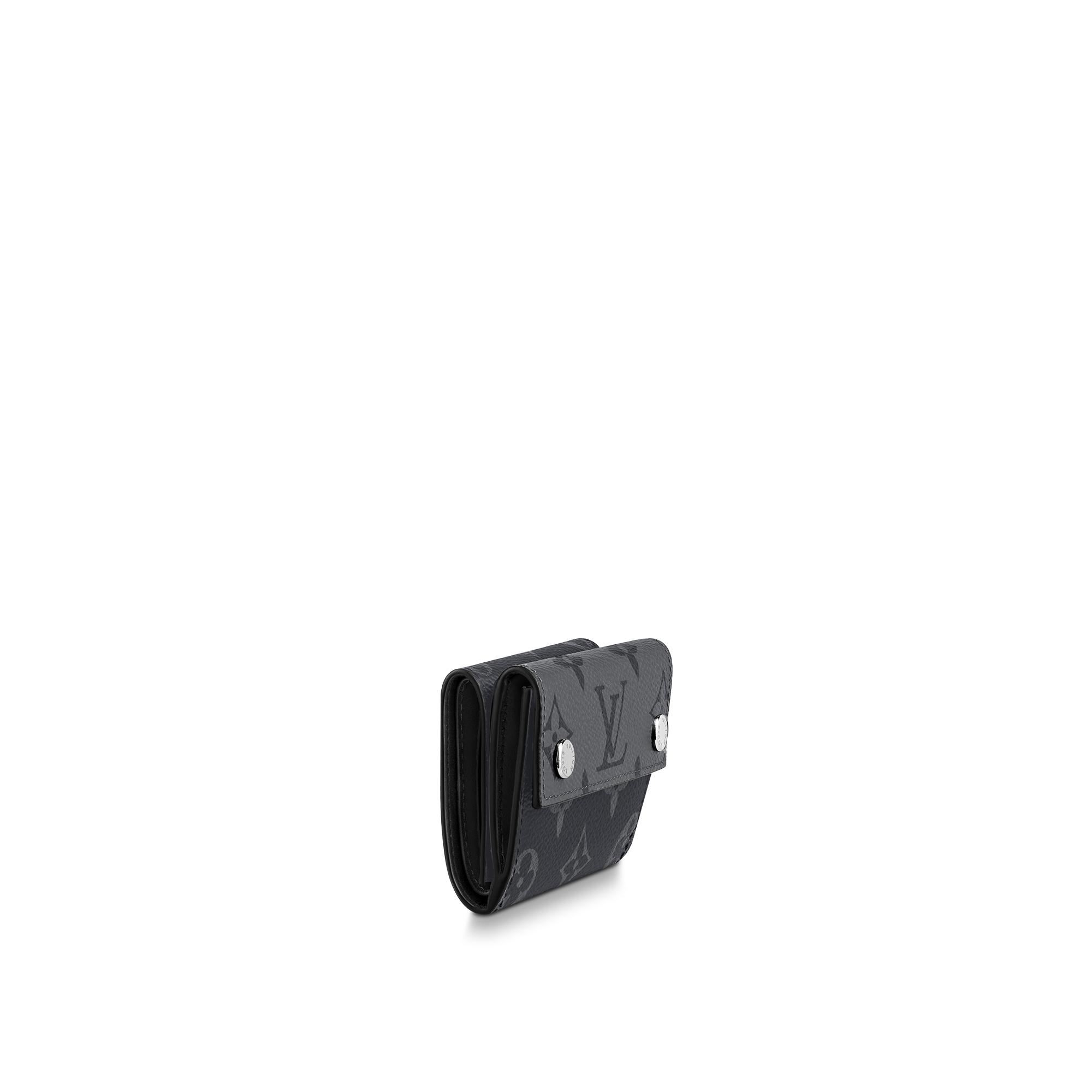 LV M45417 Eclipse Reverse Discovery 短款钱夹