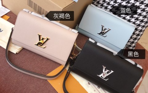 LV Lockme Clutch 手袋 M56087 M56088 M56136