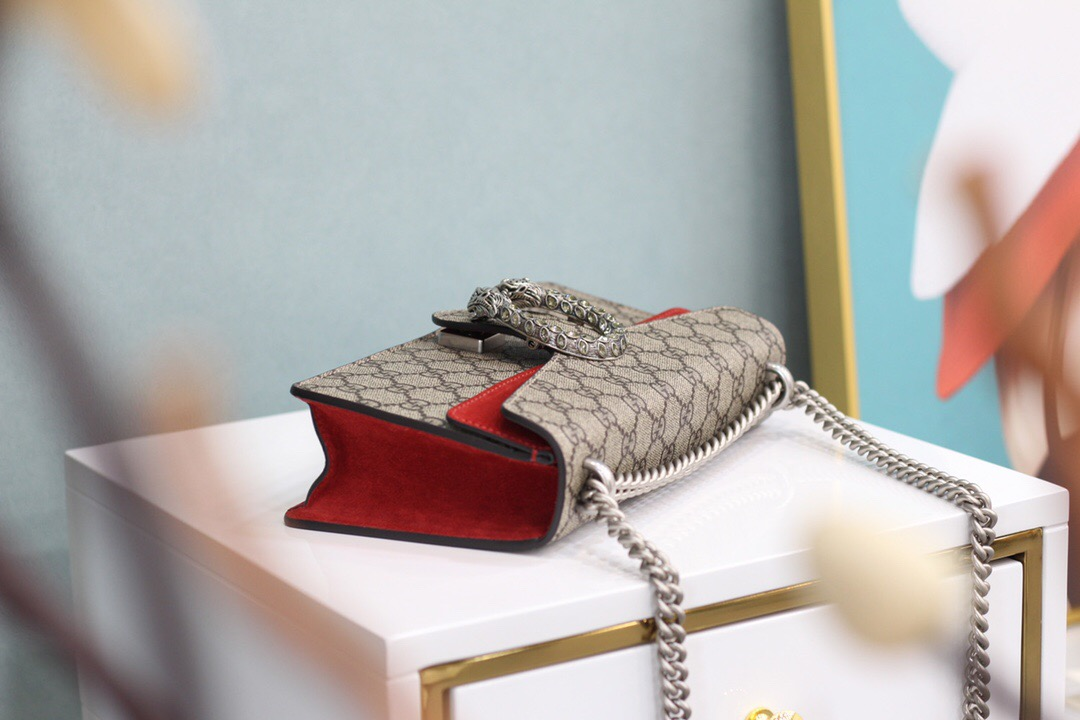 Gucci Dionysus GG small shoulder bag 499623 92TJN 8677