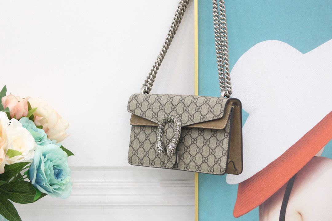 Gucci Dionysus GG small shoulder bag 499623 92TJN 8660
