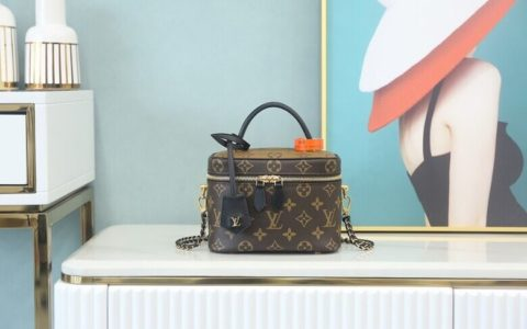 LV Vanity PM Monogram in Brown - Handbags M45165