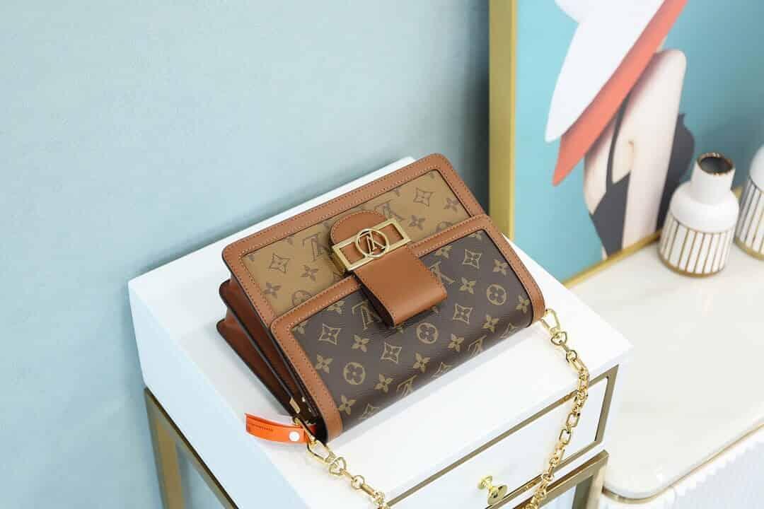 LV Dauphine MM Monogram in Brown - Handbags M44391